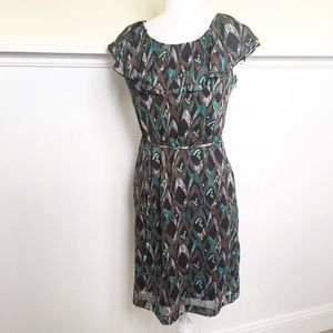 Rabbit Designs NWT Brown & Turquoise Dress - 4
